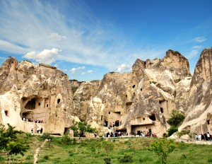 Grotten in Turkije